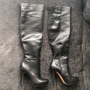 Knee high ALDO black boots
